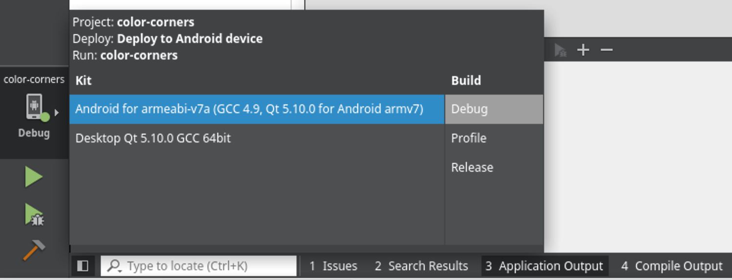 Qt for Android - setting up development environment | Declaration of VAR