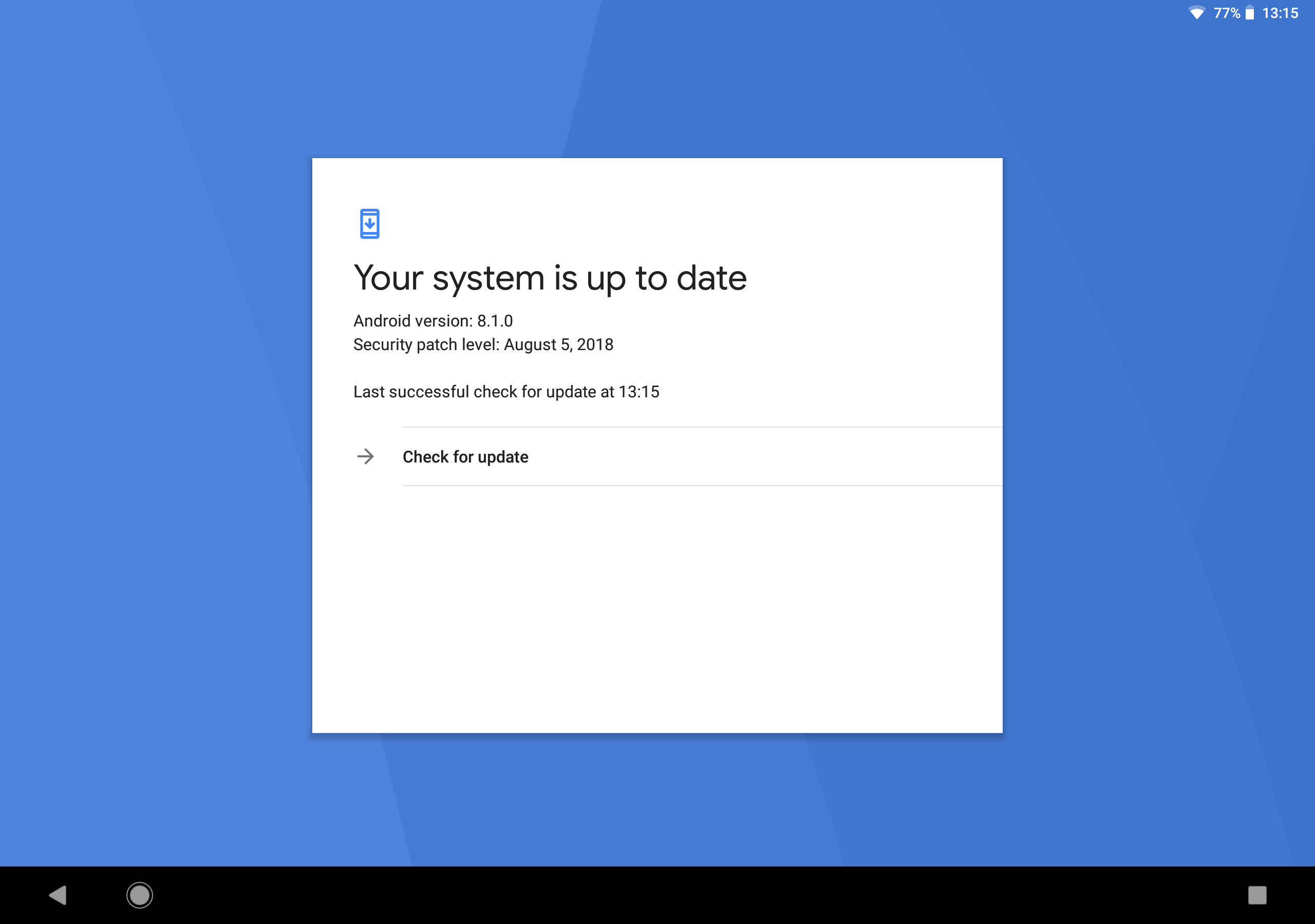 No updates for Pixel C